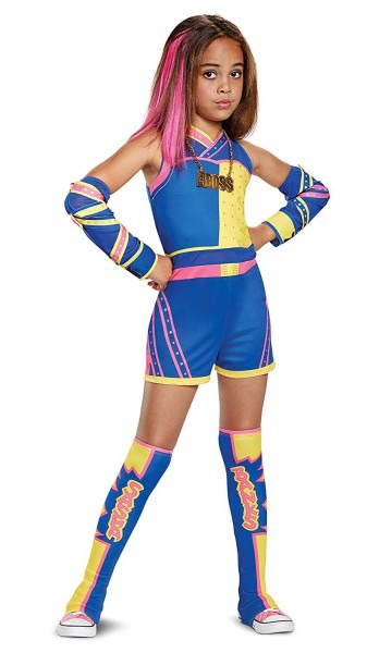 Amazon Com  Sasha Banks Deluxe Wwe Costume, Multicolor, Medium (7