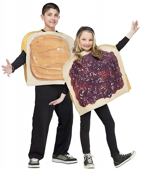 Amazon Com  Morris Costumes Peanut Butter N Jelly Child  Toys & Games