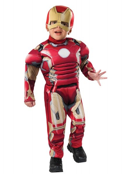 Amazon Com  Iron Man Toddler Costume With Mask  Clothing