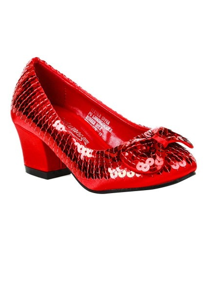 Amazon Com  Child Red Sequin Shoes  Clothing