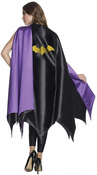 Amazon Com  Rubie's Women's Dc Superheroes Deluxe Batgirl Cape