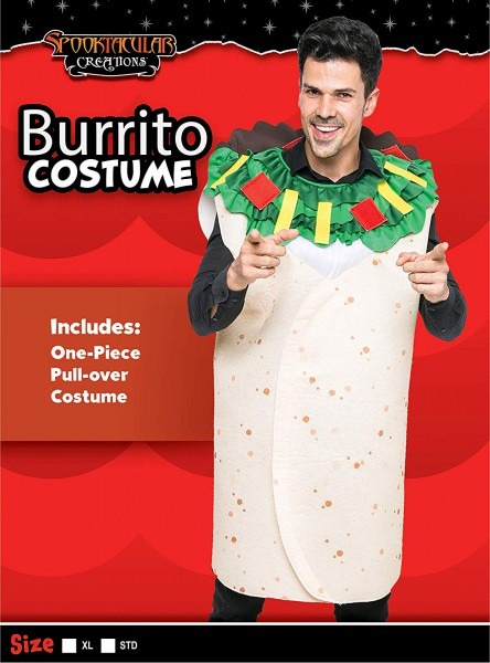Amazon Com  Spooktacular Creations Men Burrito Costume Adult