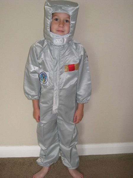 Astronaut Fancy Dress Costume Age 3