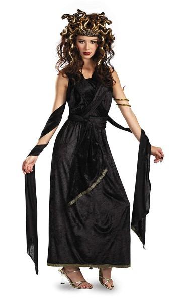 Amazon Com  Medusa Adult Halloween Costume, Large (12