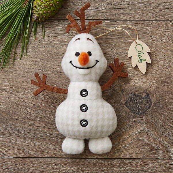 Amazon Com  Disney Olaf Storybook Plush Ornament  Home & Kitchen
