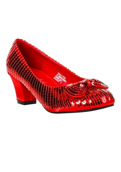 Amazon Com  Adult Red Sequin Shoes  Clothing