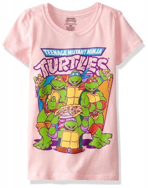 Amazon Com  Teenage Mutant Ninja Turtles Girls'pizza Girls T