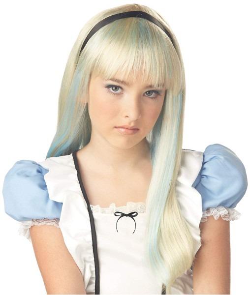 Amazon Com  Alice In Wonderland Child Wig  Toys & Games