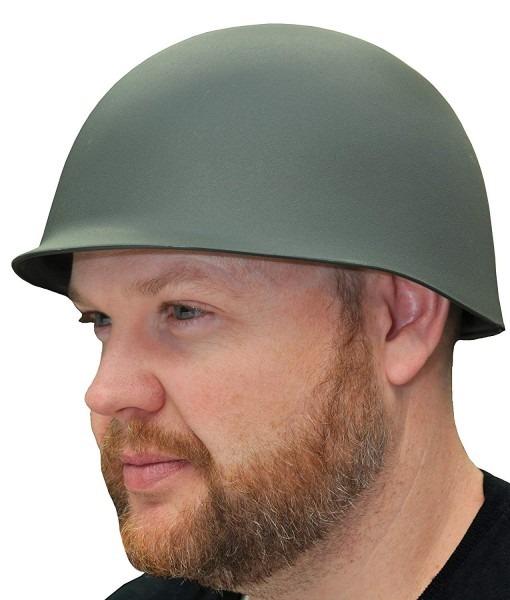 Amazon Com  Uhc Adult Men's Army Military Helmet Halloween Costume
