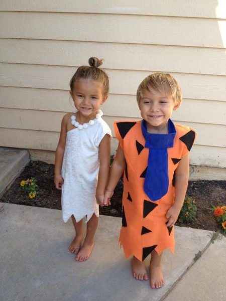 Fred And Wilma Costume 2 Costumes 12 Months To 5t Twins Or