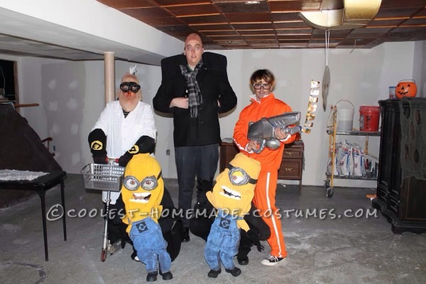 Cool Despicable Me Group Costume  Gru, Vector, Dr  Nefario And