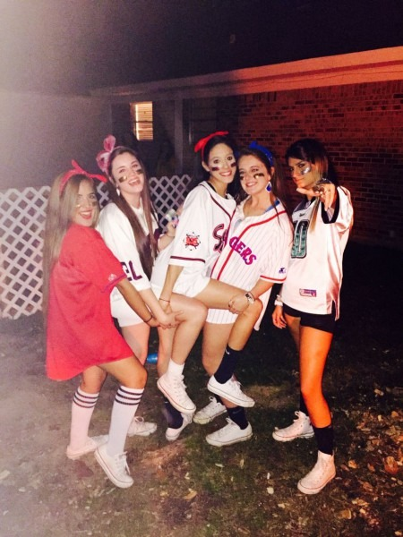 Cute Halloween Outfit! Baseball Babes