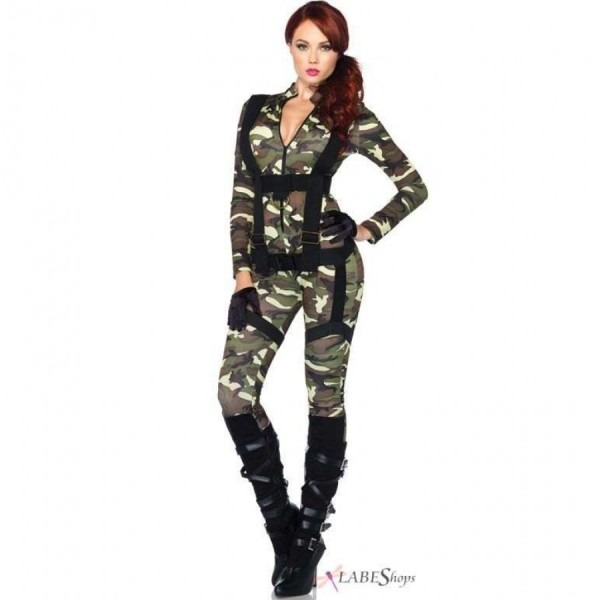 Pretty Paratrooper Womens Military Halloween Costume