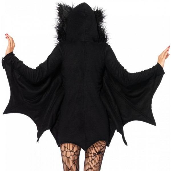 Cozy Bat Fleece Womens Halloween Costume