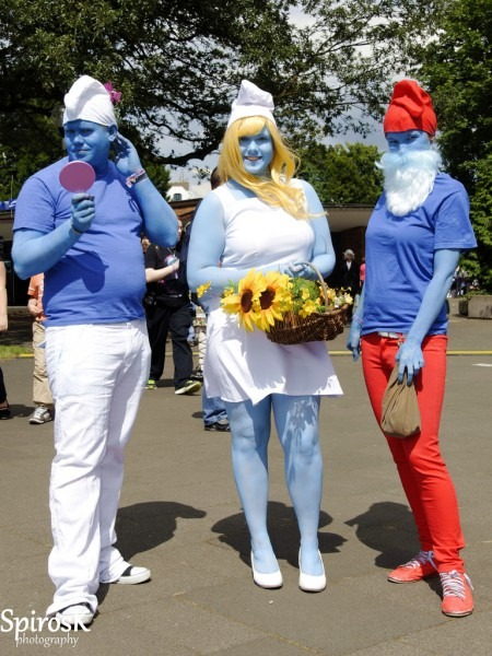 The World's Best Photos Of Costume And Smurfs