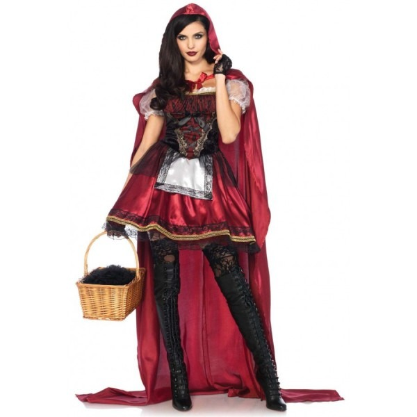 Captivating Miss Red Riding Hood Costume
