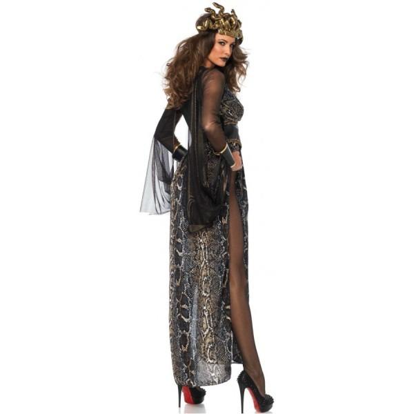 Medusa Snake Goddess Womens Halloween Costume