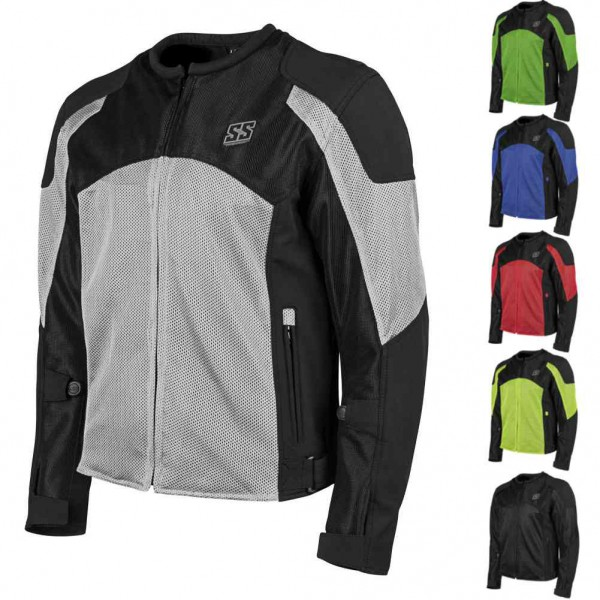Speed And Strength Midnight Express Mesh Mens Street Riding