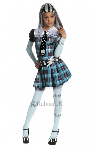 Childrens Girls Monster High Fancy Dress Costume Outfit Halloween