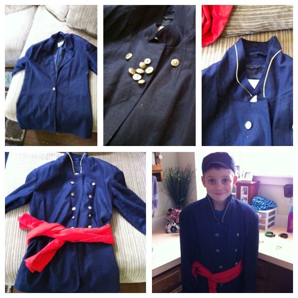 Diy Civil War Soldier Costume That I Made For Collin