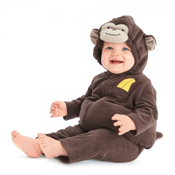 Baby Carter's Fleece Monkey Costume, Infant Boy's, Size  24 Months