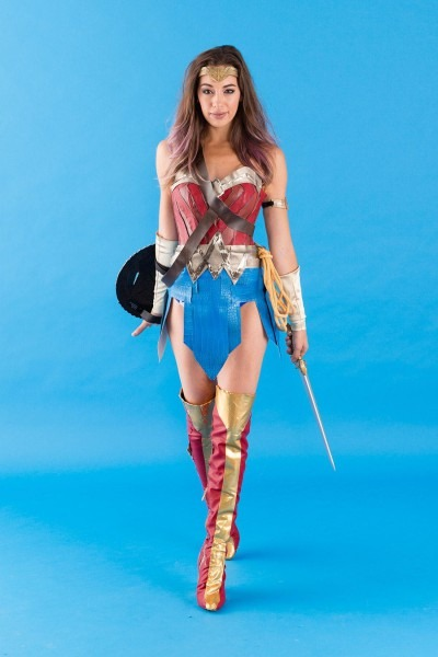 Grab Your Gang And Diy This Epic Wonder Woman Costume For