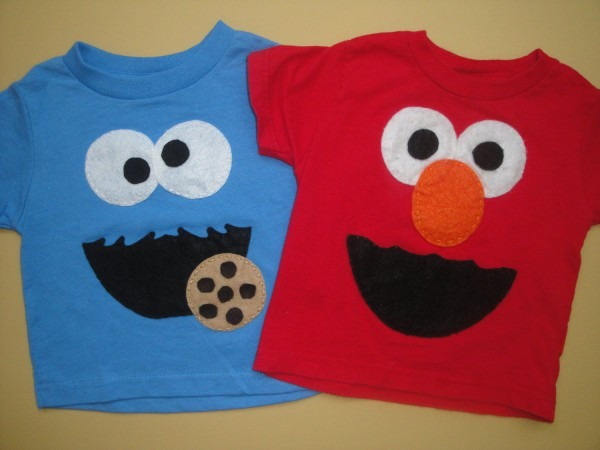 Cookie Monster And Elmo T