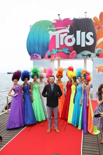 "Justin Timberlake Y Anna Kendrick Presentan En Cannes ""trolls"