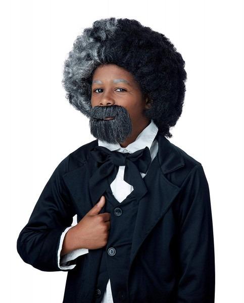 Amazon Com  California Costumes Child's Frederick Douglas Wig And