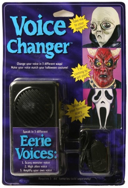 A920 Voice Changer Disguiser Monster Alien Microphone Costume