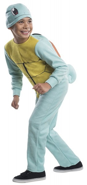 Costume Pokemon Squirtle Child Costume, Small, Rubie's Costume