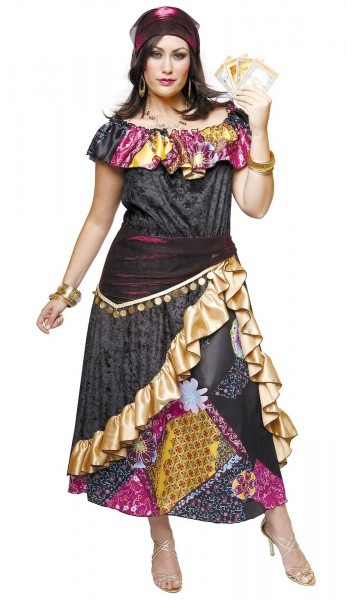 Great Halloween Costume!!! Gypsy Clothes Plus Size