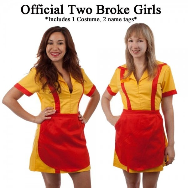 Official Adult Tv Show Two 2 Broke Girls Max And Caroline Diner