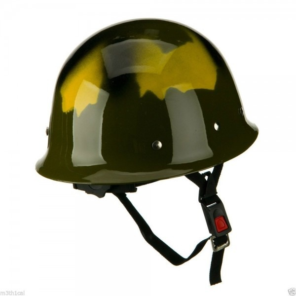 Child Adult Green Army Helmet Hat Military Plastic Soldier Costume