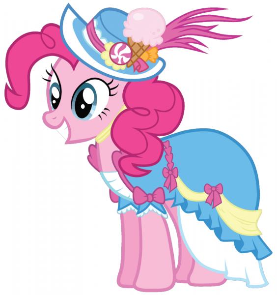 Pinkie Pie Coronation Dress