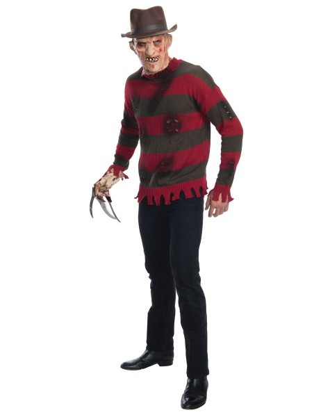 Nightmare On Elm Street Freddy Krueger Deluxe Adult Costume