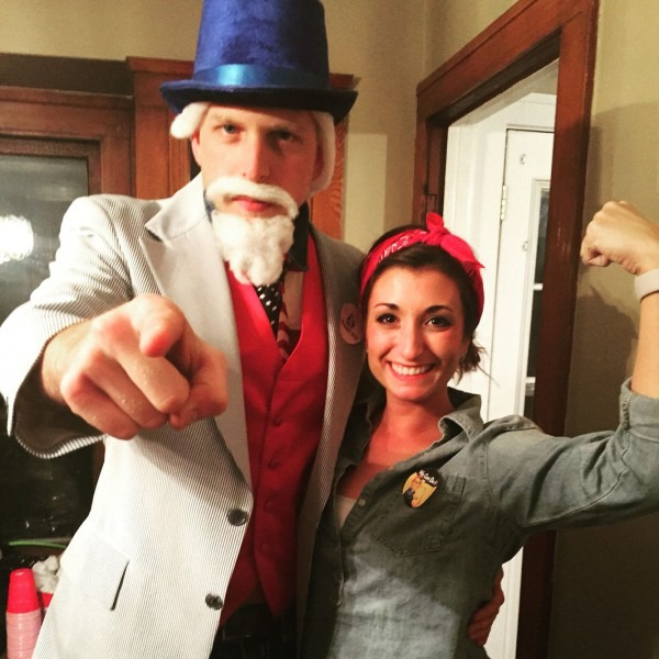 Uncle Sam And Rosie The Riveter!