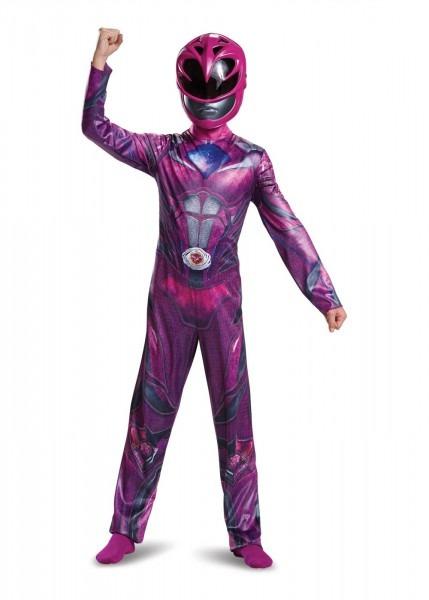 Girls Pink Power Ranger Movie Costume