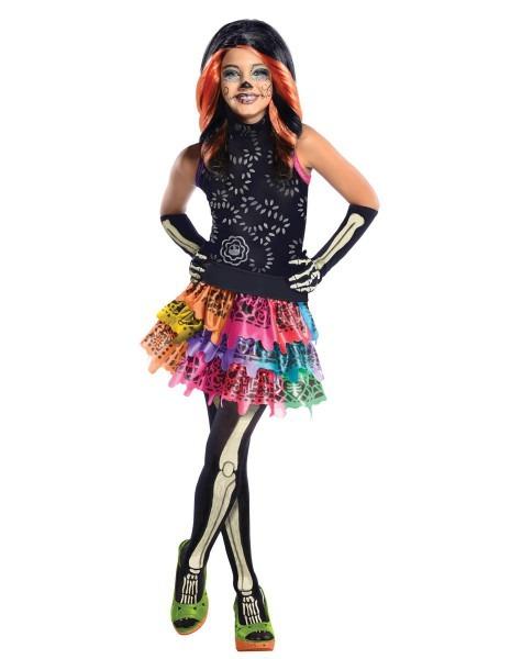 Monster High Skelita Girl's Costume At Spirit Halloween
