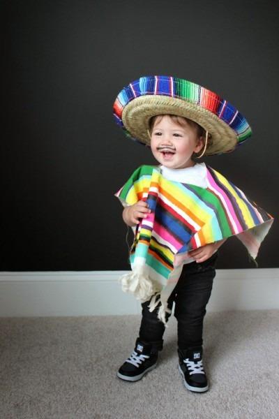Child's Mexican Fancy Dress Boys Girls Spanish Costume Wild West