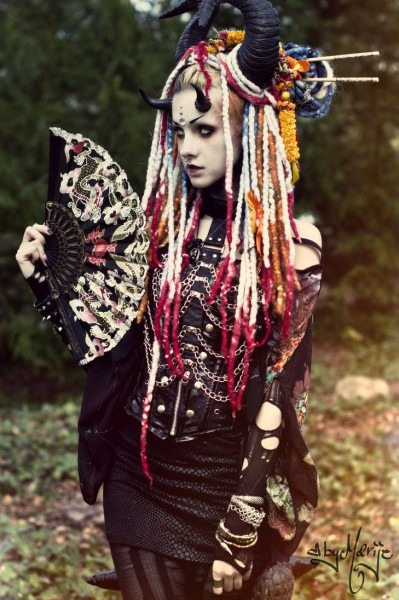 Dragon Geisha By Psychara Deviantart Com On @deviantart