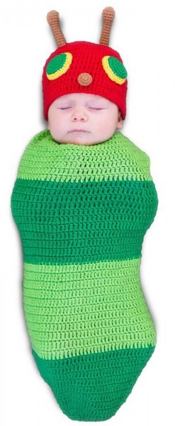 Caterpillar Bunting Costume For Infants