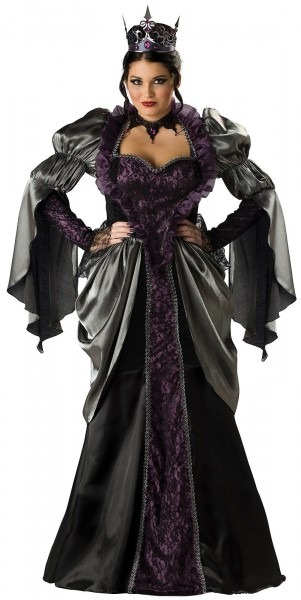 Once Upon A Time Evil Queen Costume For Women Small