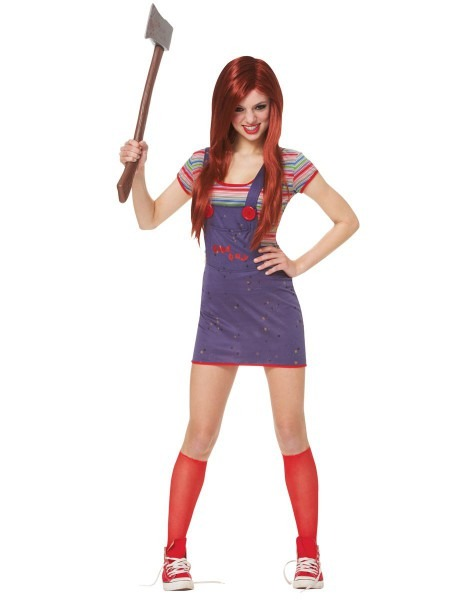 Sexy Chucky Adult Womens Costume – Spirit Halloween