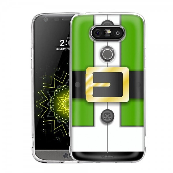 Lg G5 Green Santa Suit With Buttons Slim Case