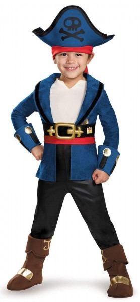 Pirates Of The Caribbean 5  Captain Jack Deluxe Child Costume