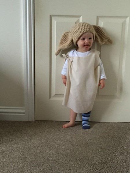 My Very Own Dobby! Halloween Costume With Crochet Hat Cutest Dobby