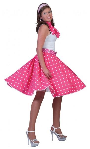 Pink Rock'n Roll Skirt [ac049a]