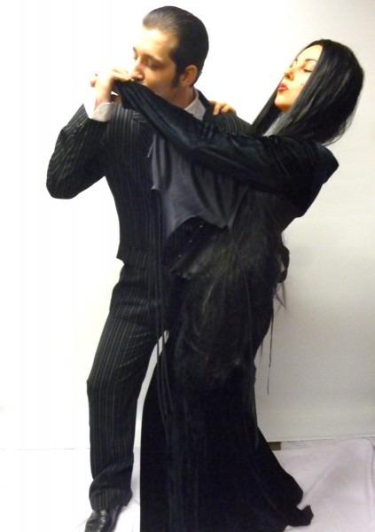 Gomez And Morticia Costume Couple