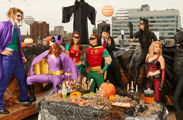 Adult Superhero Party Ideas Superheroes Vs Villains Halloween